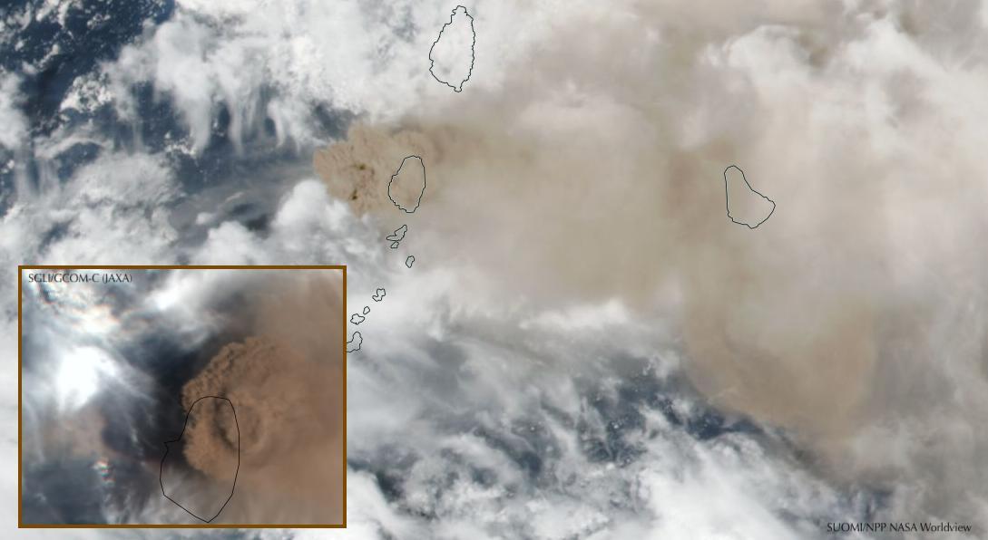 St-Vincent-Soufriere-Eruption